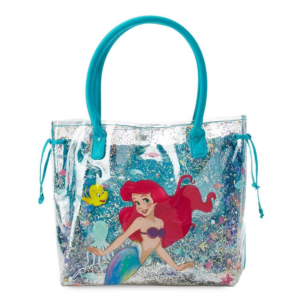 fun novelty swim bag Disney/'s Frozen Elsa and Anna blue with print **