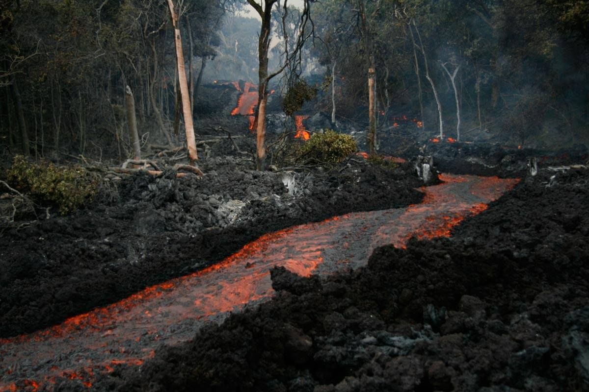 Kilauea, Hawaii Lava River