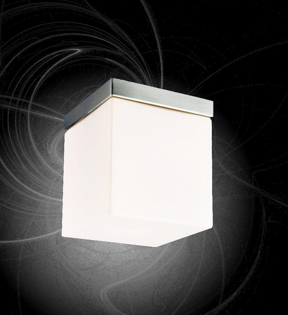 Deckenlampe Decken Leuchte Glas Lampe Wand Beleuchtung Eckig Flur Licht Wurfel Ebay Lampen Lampen Decke Lampe Wand
