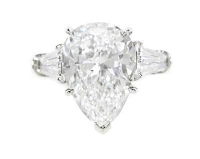 Pear Diamond Ring Settings For Shaped