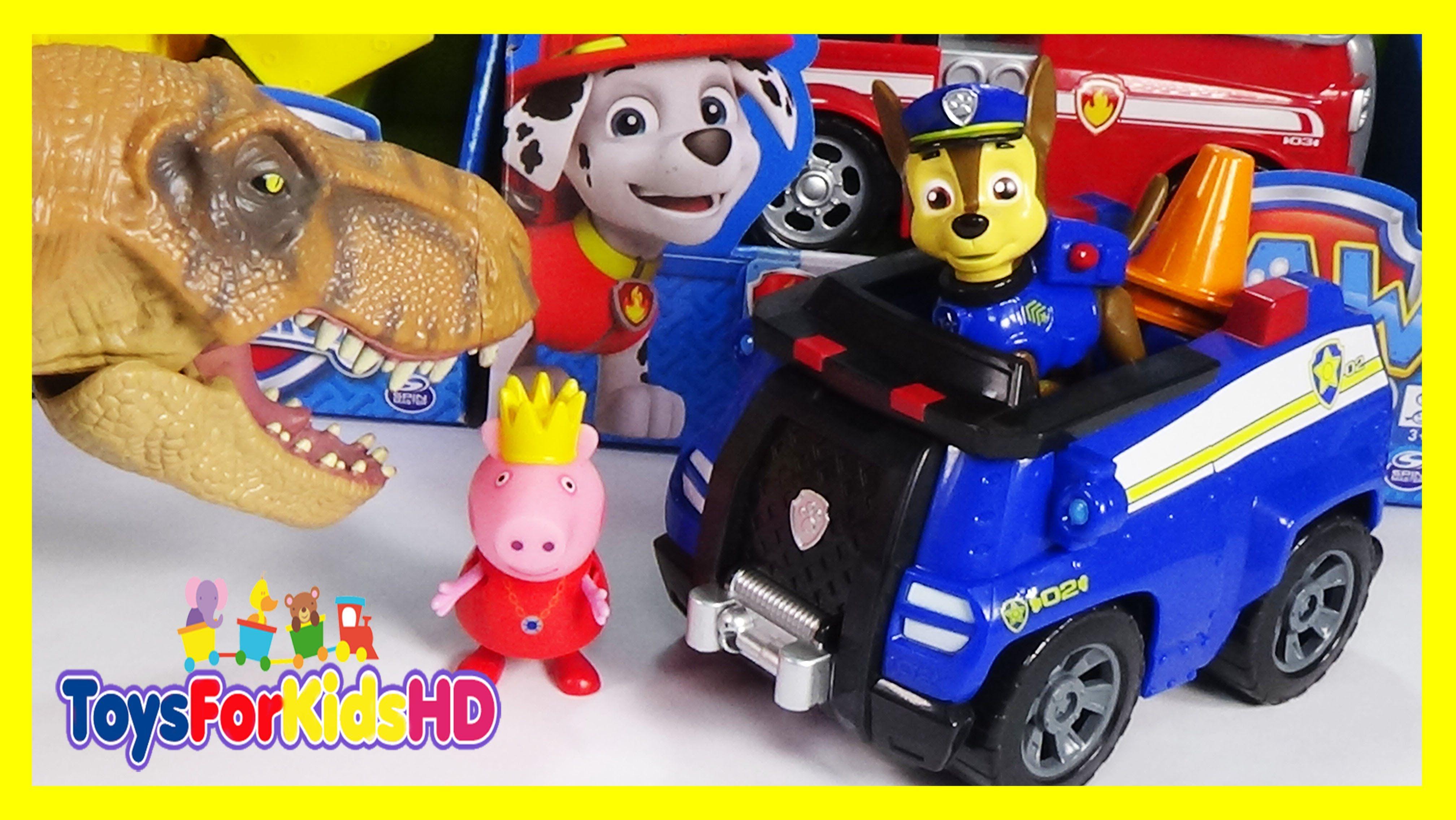 La Patrulla Canina - Juguetes Paw Patrol en español Chase's Patrulla de  Cachorros ToysForKidsHD