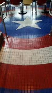 Captain America Diner - Universal Studios, Orlando Florida. Island's of Adventure. Marvel Superhero Island #civilwar