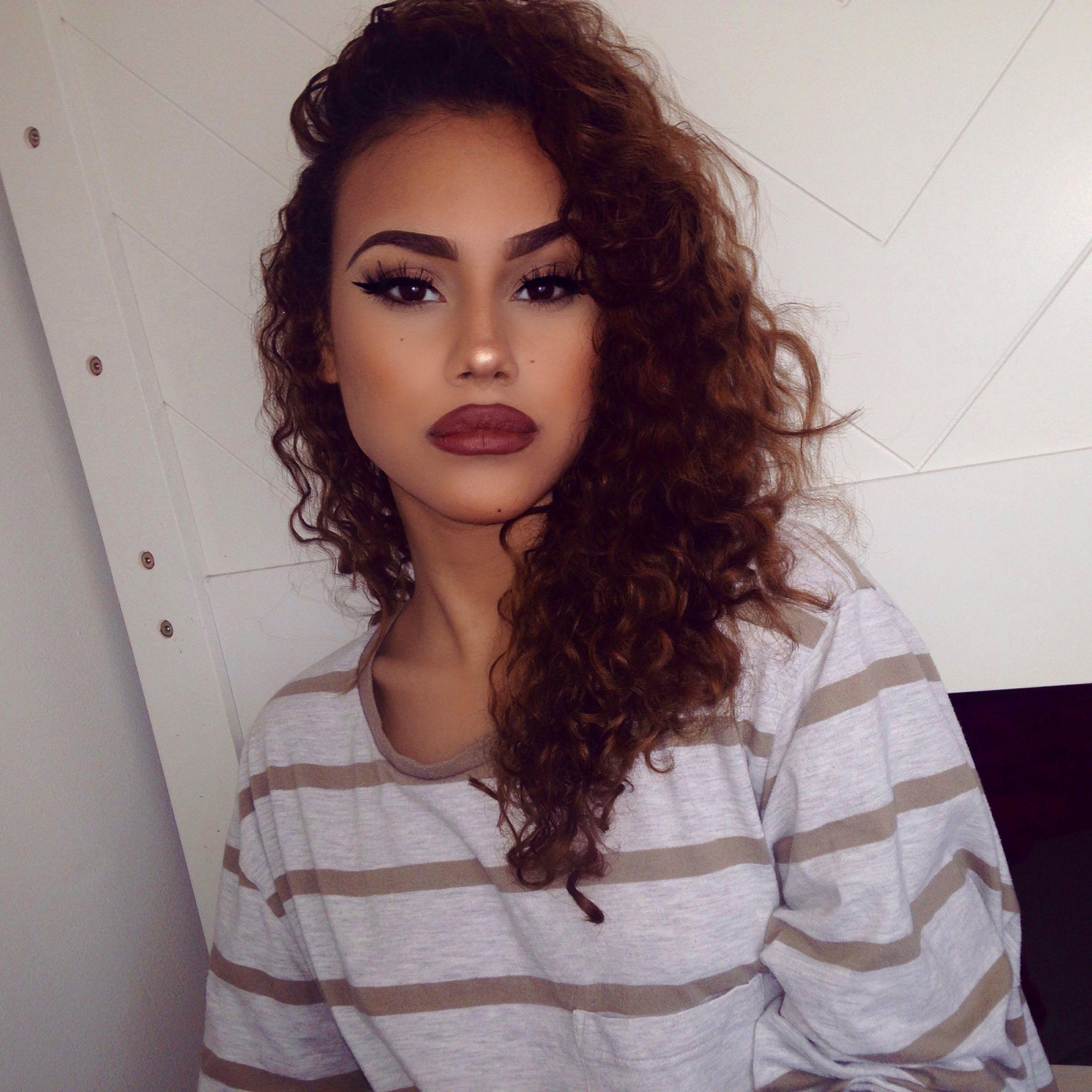 Instagram Baddie Makeup Tutorial! Baddie makeup