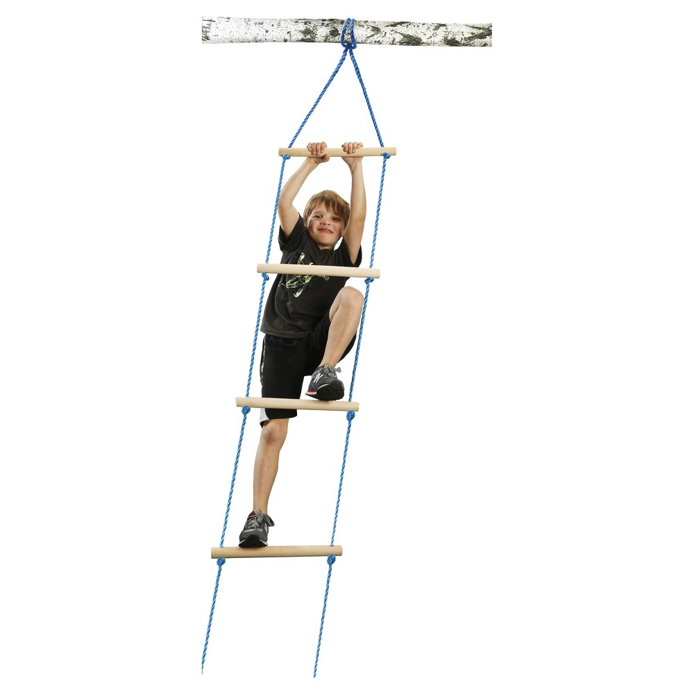 Ninja 8-Feet Rope Ladder, Blue
