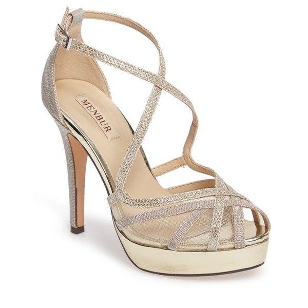 eeebdb89b57 Women s Menbur Rosa Platform Evening Sandal (2