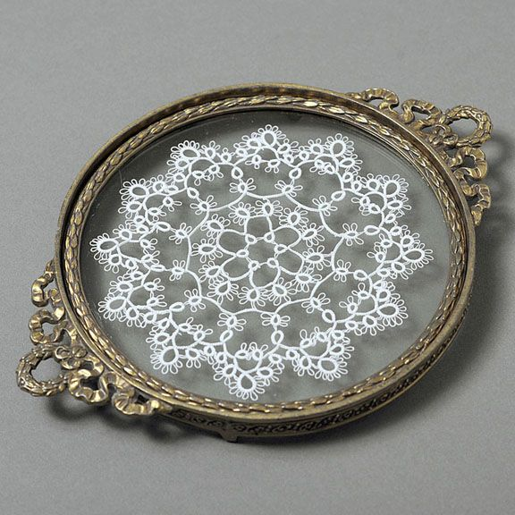 Could easily DIY this antique vanity tray: ornate frame that the glass (or  mirror - Could Easily DIY This Antique Vanity Tray: Ornate Frame That The