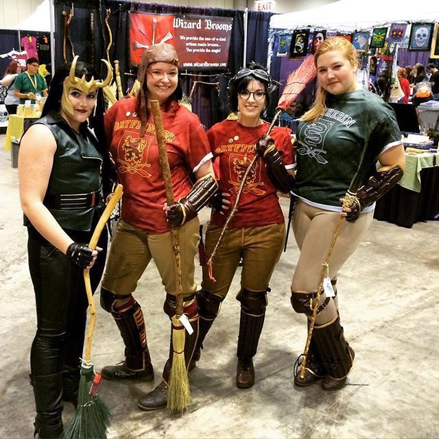 Pin for Later: 30+ Harry Potter Group Costume Ideas For Anyone Trying to Forget They're a Muggle Quidditch Players