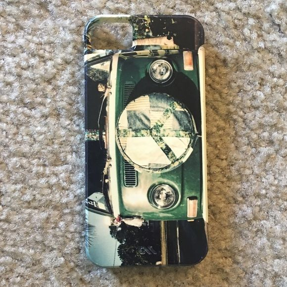 iPhone 5s hard vw big case Good condition! Hard case for iPhone 5/5s. Accessories Phone Cases