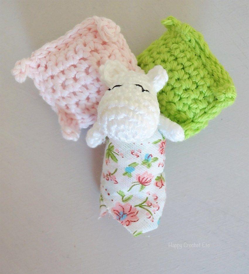 La famille Moomin au crochet s\'agrandit • Moomin crochet • Moomin ...