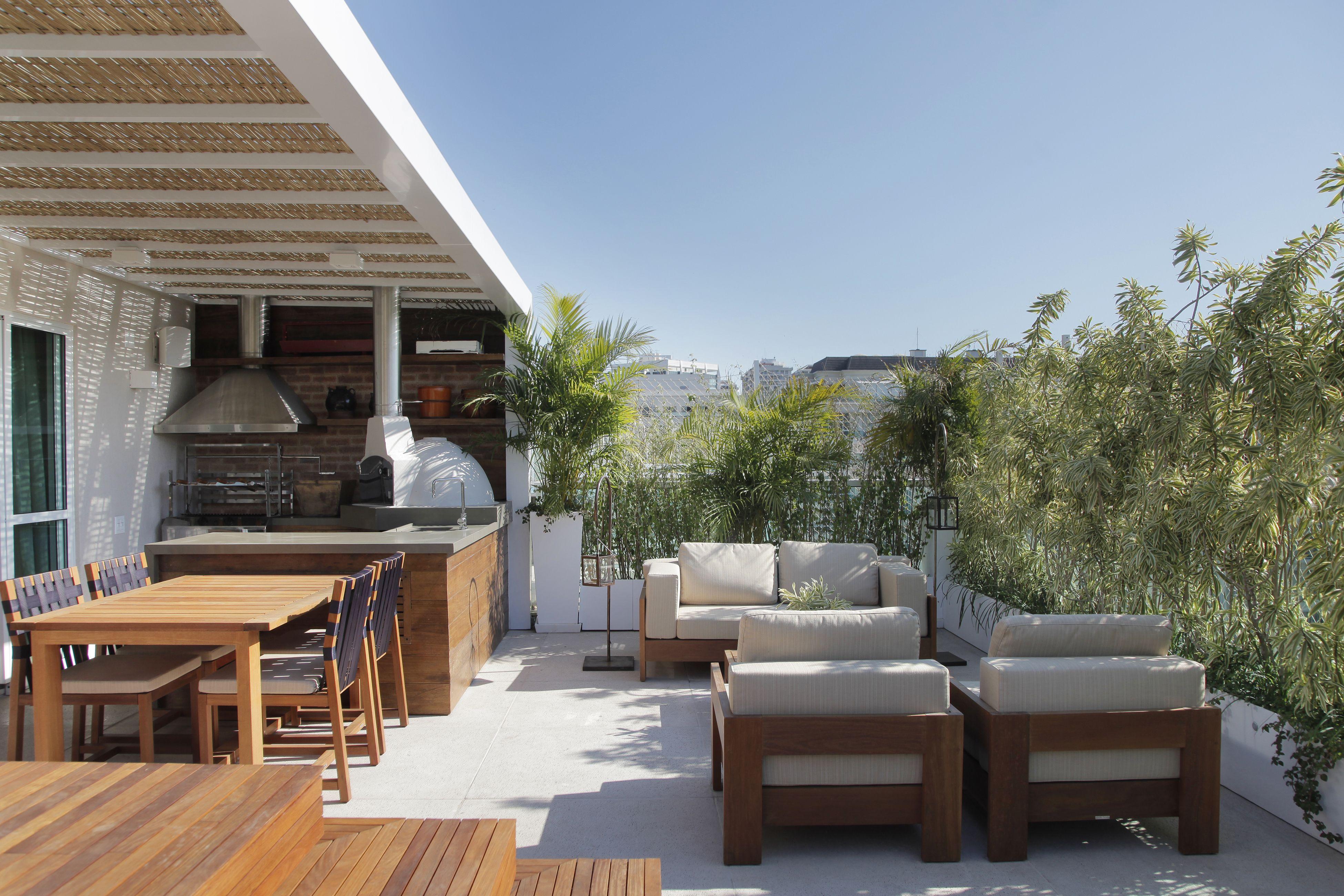area externa Varandas e Design Area de lazer com churrasqueira,Áreas de lazer e Ideias terraço -> Decoração De Area Externa Pequena