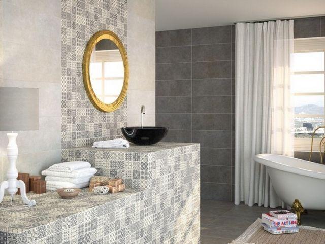 keramikfliesen-dezente-Farben-fliesenmuster-bad-ideen-gestaltung - gestaltung badezimmer