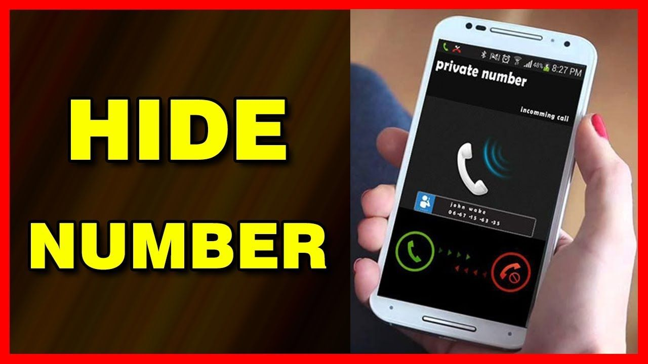 How to hide your caller id number on android 2019