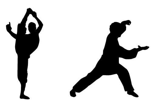 Stunning Karate Silhouette Vector Free Download ...