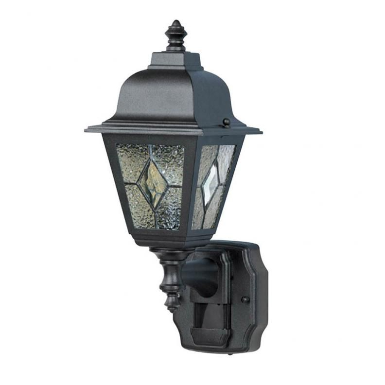 Heath Zenith Hz 4395 Bk Cottage Motion Security Light Black Decorative