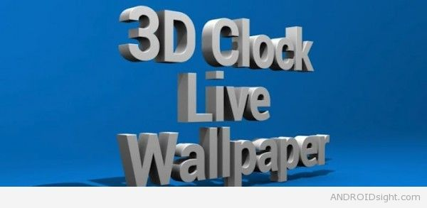 3d Clock Live Wallpaper See The Current Time And Date With