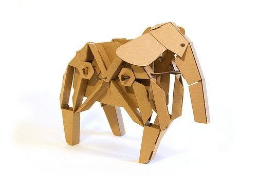 Kinetic Creatures: Elephant