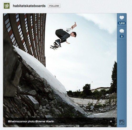 Photo Habitatskateboards, 1,312 likes, 3 comments