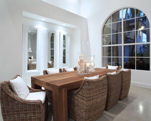 Idées déco pour une salle à manger moderne de taille moyenne avec un