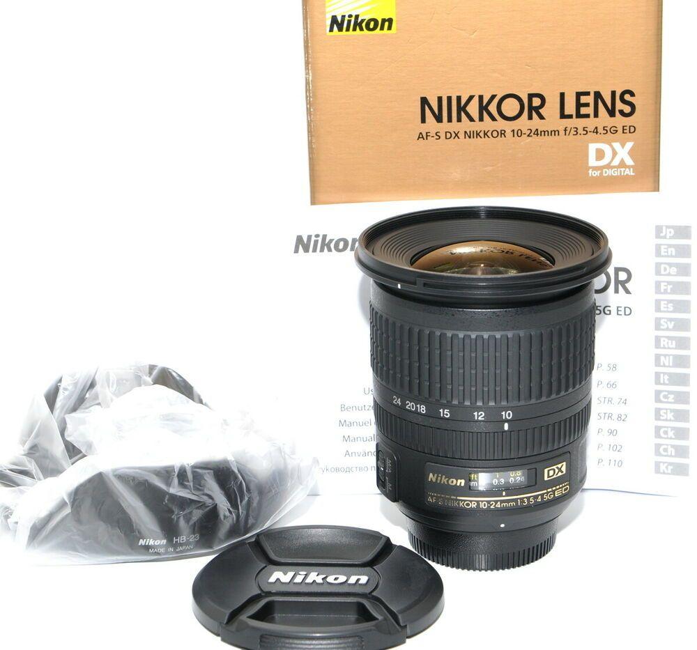 Nikon Dx Zoom Nikkor 10 24 Mm F 3 5 4 5 Swm Af S Dx If G Ed Objektiv Top Nikon Dx Category Nikon