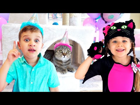 Diana And Roma The Best Cat Stories For Kids Youtube Cat Stories Cool Cats Stories For Kids