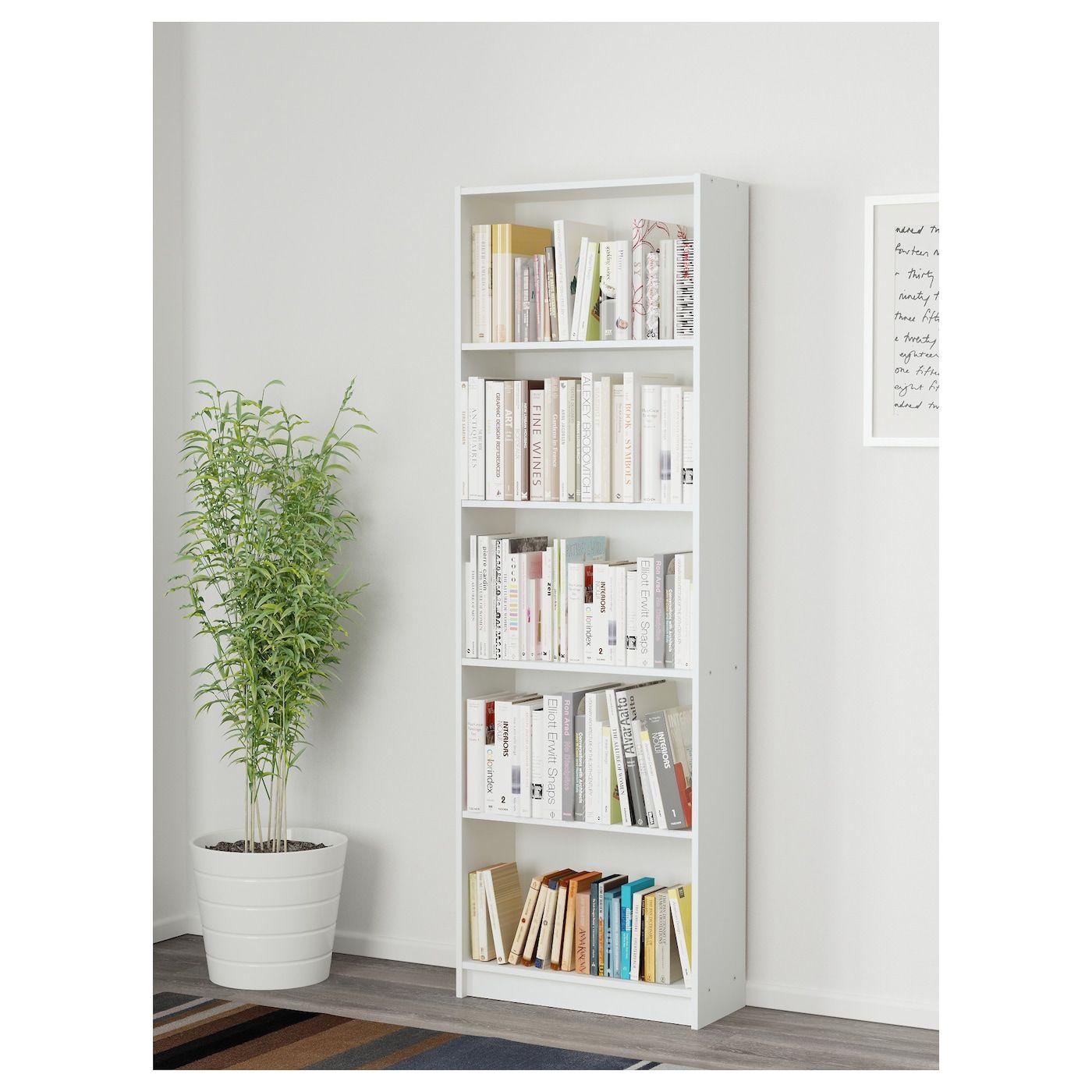 GERSBY white, Bookcase, 60x180 cm IKEA in 2020 | White