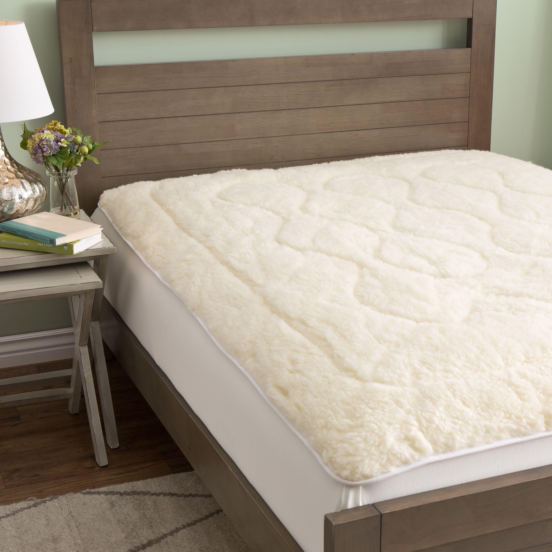 European Heritage Australian Merino Wool Mattress Pad Twin Cotton
