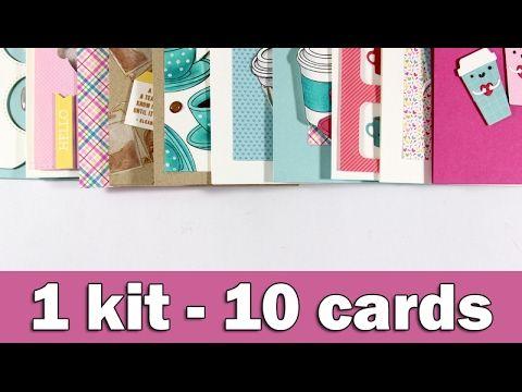 1 kit 10 cards | February 2017 | Clips-n-Cuts | Bloglovin'