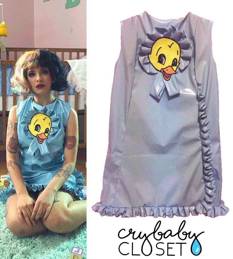 Melanie In Cry Baby Music Video 2016 Stella Rose Duck Dress Custom Made Melanie Martinez Outfits Melanie Martinez Style Aesthetic Clothes