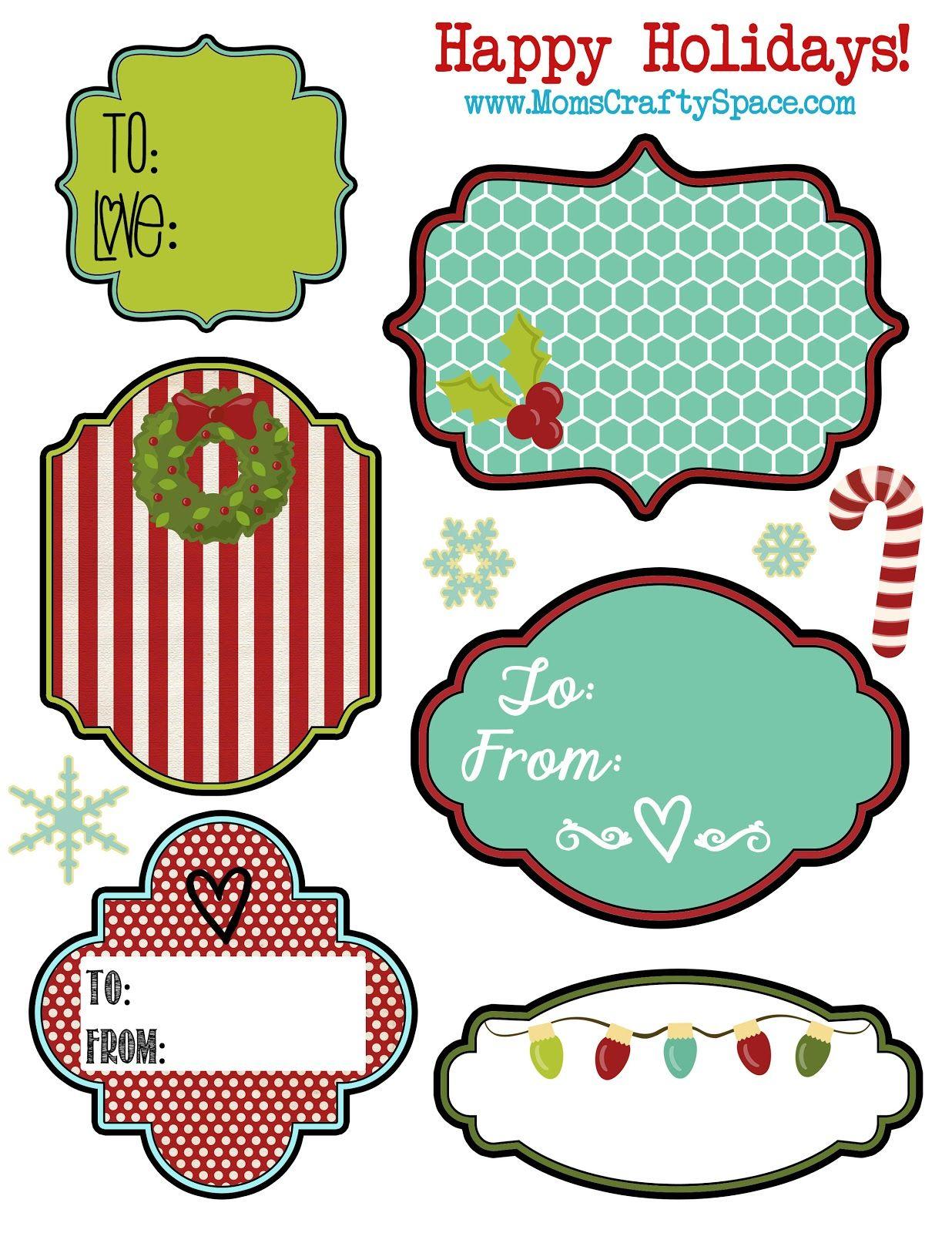 printable holiday gift tags homemade christmas tag and mom printable christmas holiday tags mom s crafty space