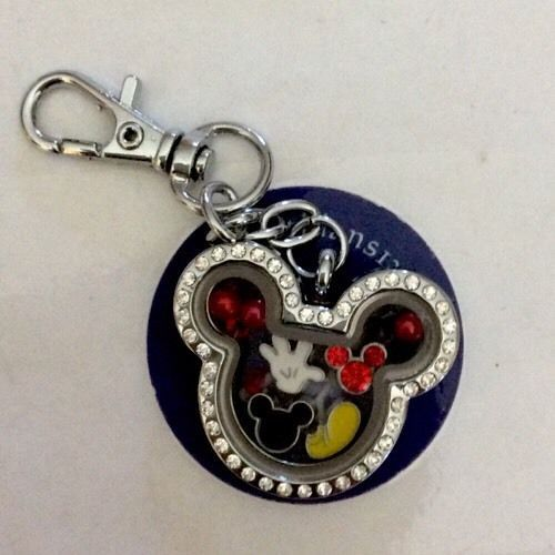 Mickey Mouse Floating Charms for Living Memory Charm Lockets