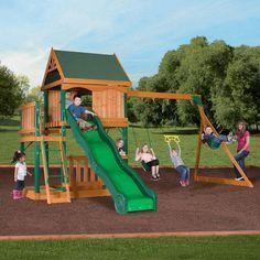 599 Sams Club Swings Cedar Swing Sets Wood Swing Garage House
