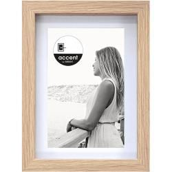 Photo of Accent Bilderrahmen Aura (Eiche, 30 x 40 cm, Holz) Accent