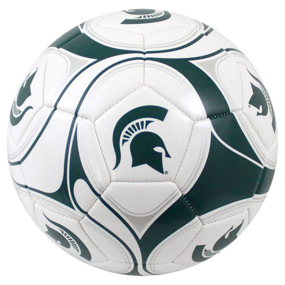 Michigan State Spartans Official Composite Youth Soccer Ball Size 5 In 2020 Soccer Ball Soccer Michigan State Spartans