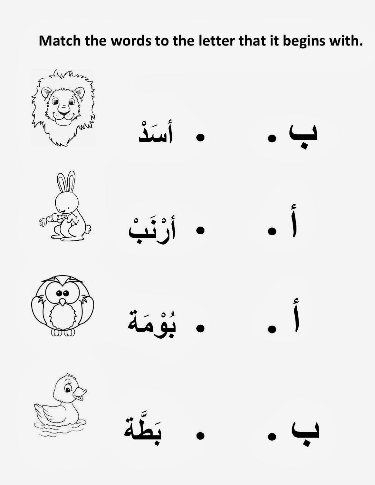 Pin By Rama Lababidi On Arabic Alphabet