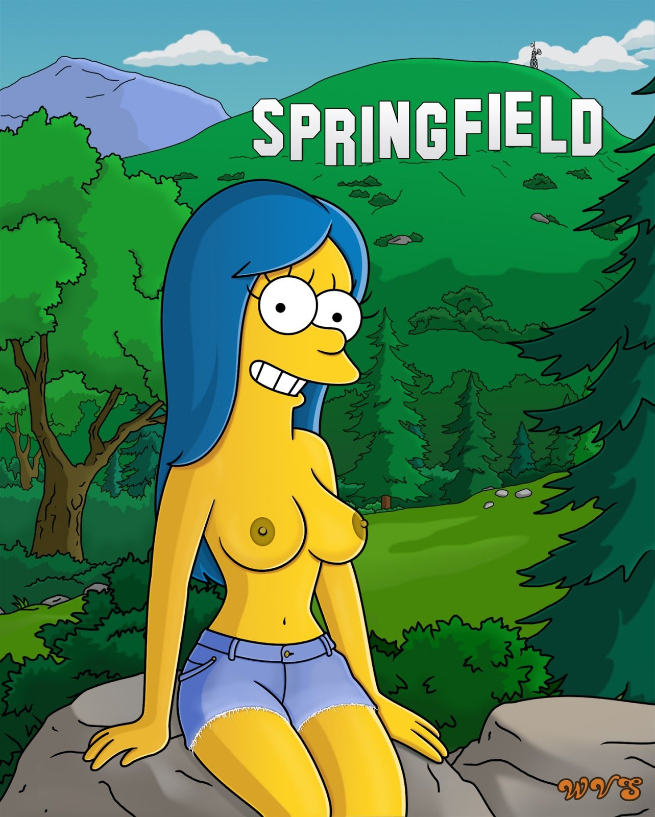 Nude pics of Marge Simpson already discussed