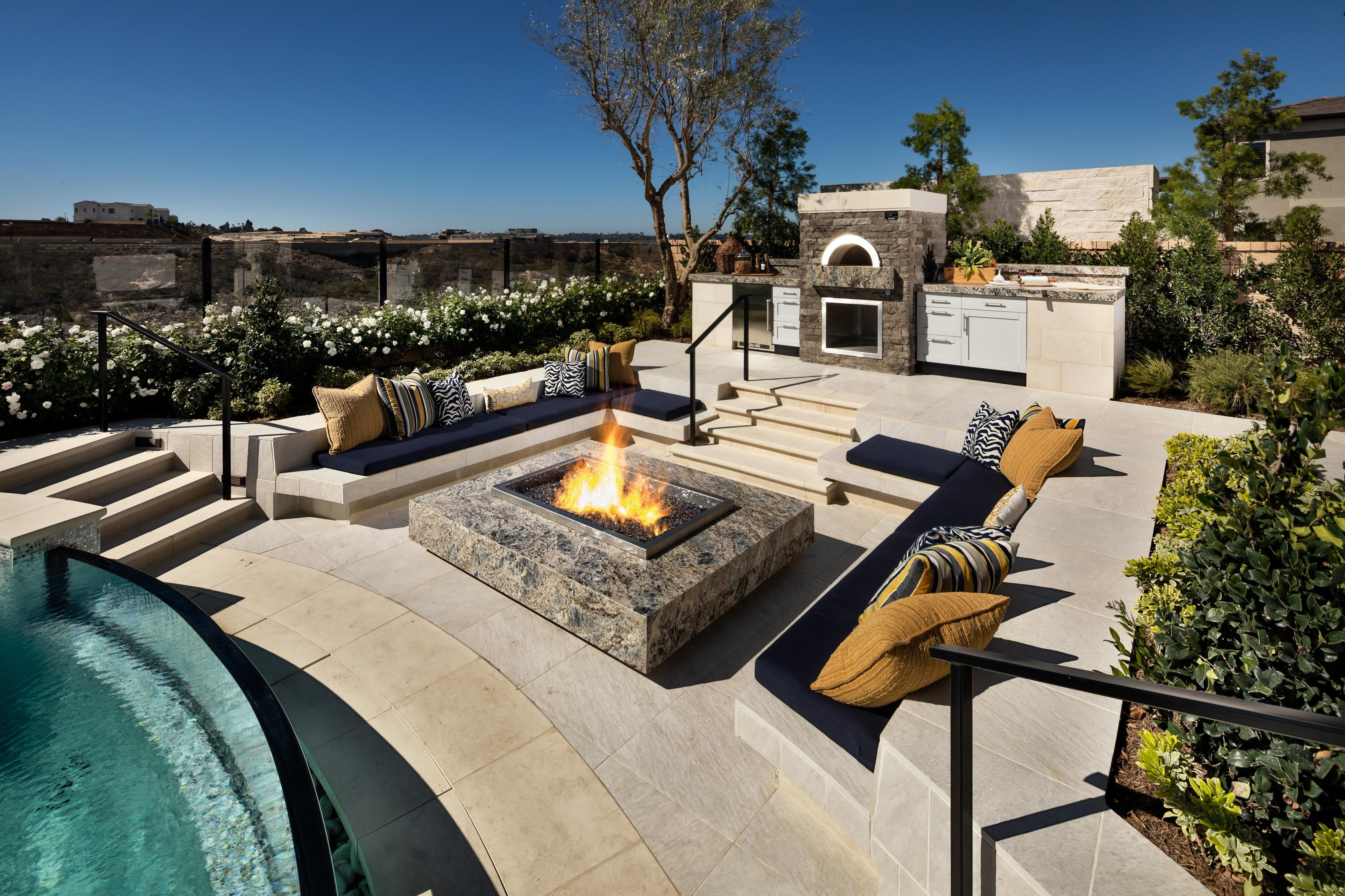 Take The Fun Times Outside With This Magnificent Fire Pit Area