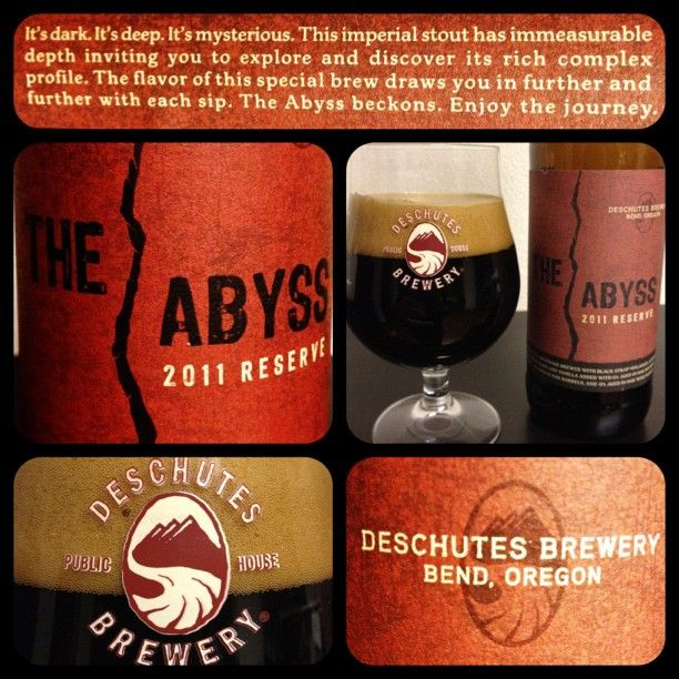 Another great collage shot on instagram by @roshambo74. The Abyss...so rich and tasty.