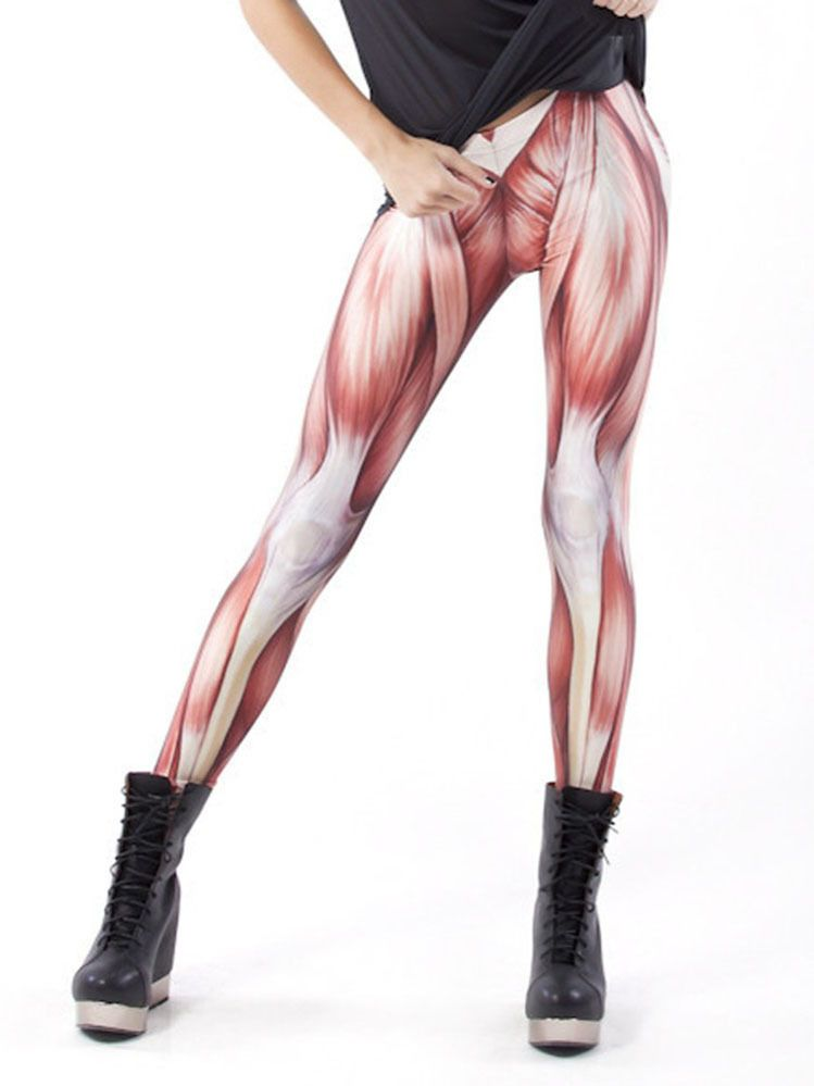 Donning These Leggings Is A Wonderful Way To Add Some High