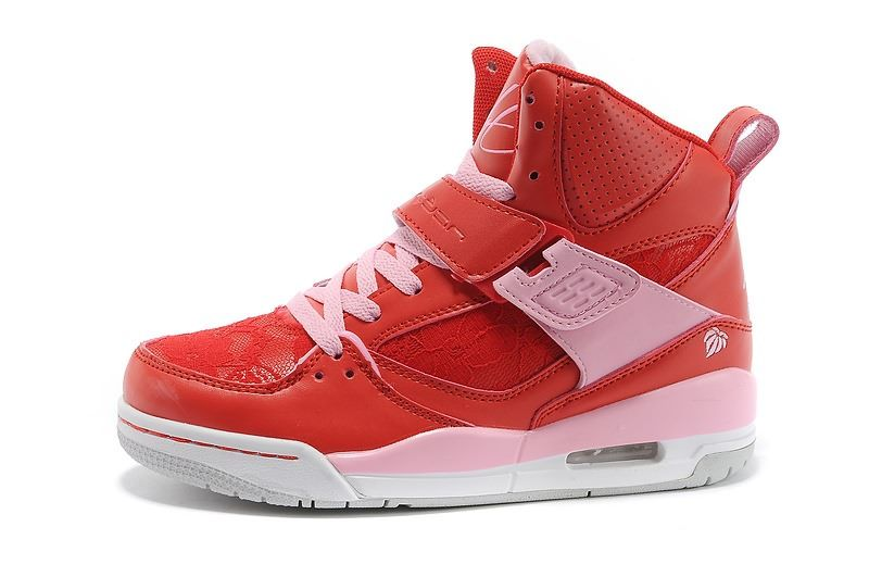 c12c95dc837 Air Jordan 45 Flight Women AJ45 Valentine s Day Girls Athletics Shoes