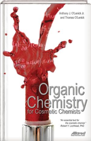 Organic Chemistry For Cosmetic Chemists Books