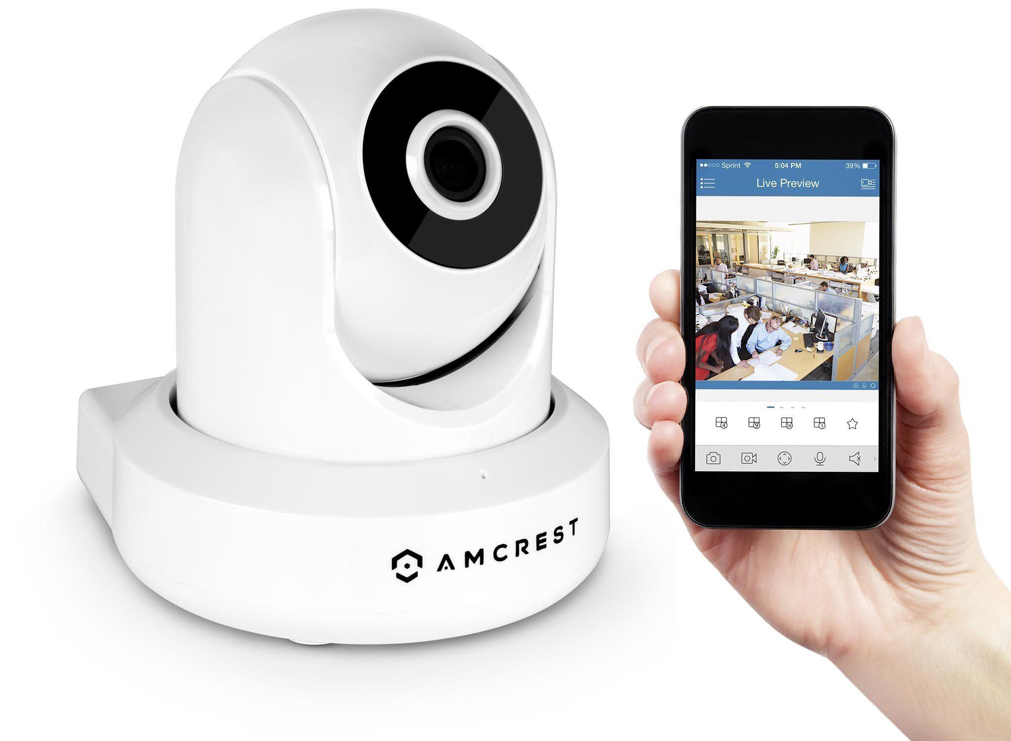 Amcrest 1080P WiFi Video Monitoring Security Wireless IP