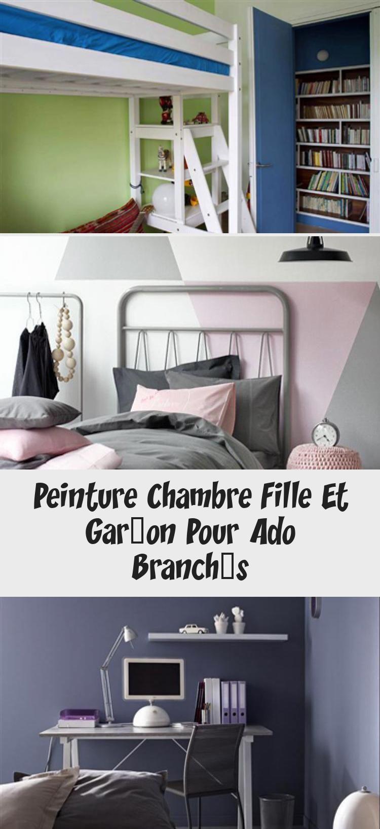 Peinture Chambre Fille Et Garcon Pour Ado Branches Bed Home Decor Loft Bed