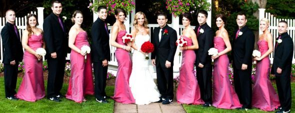Plan A Wedding Now Pink And Black Themes 3