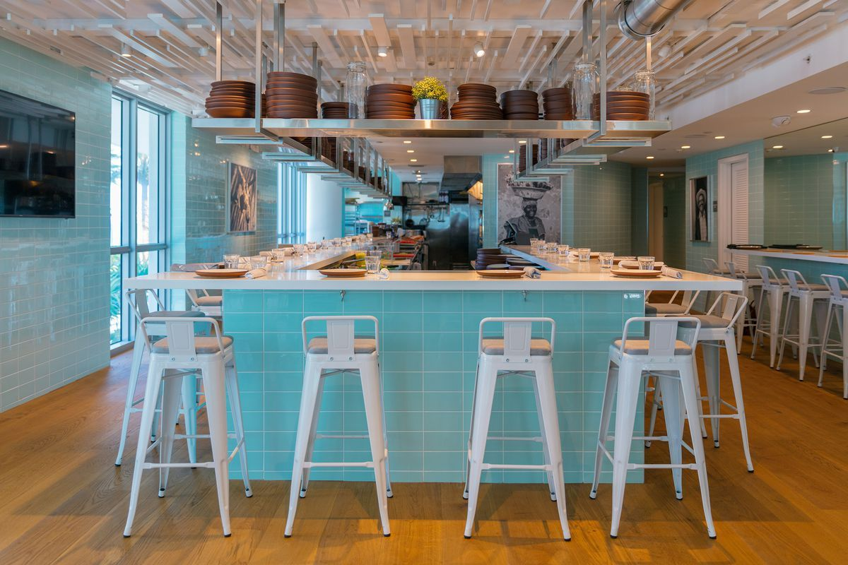 Brickell Has Found A New Place Where Families Friends Co Workers And Couples Can Experience A Good Meal And Restaurant Flooring Kitchen Design Kitchen Table