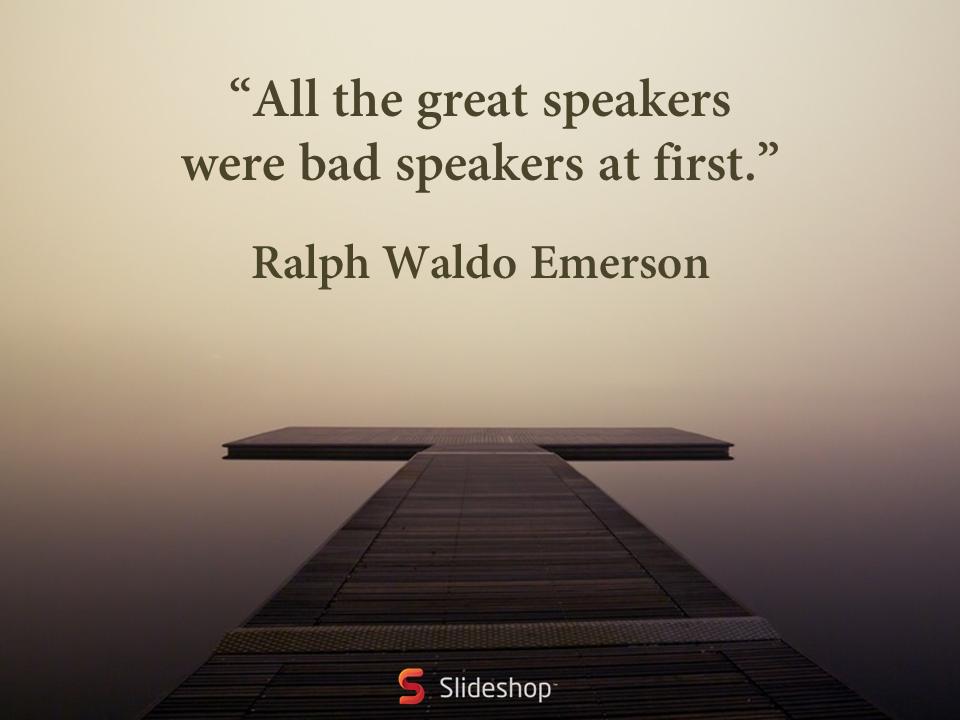 quote on presentation