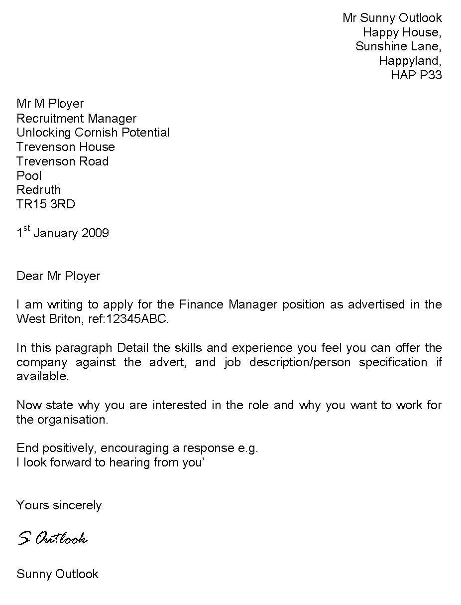 30 How To Write A Good Cover Letter Cover Letter For Resume