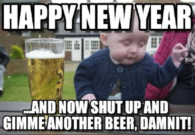 Pin On Funny New Year Meme For Wishing Happy New Year 2019