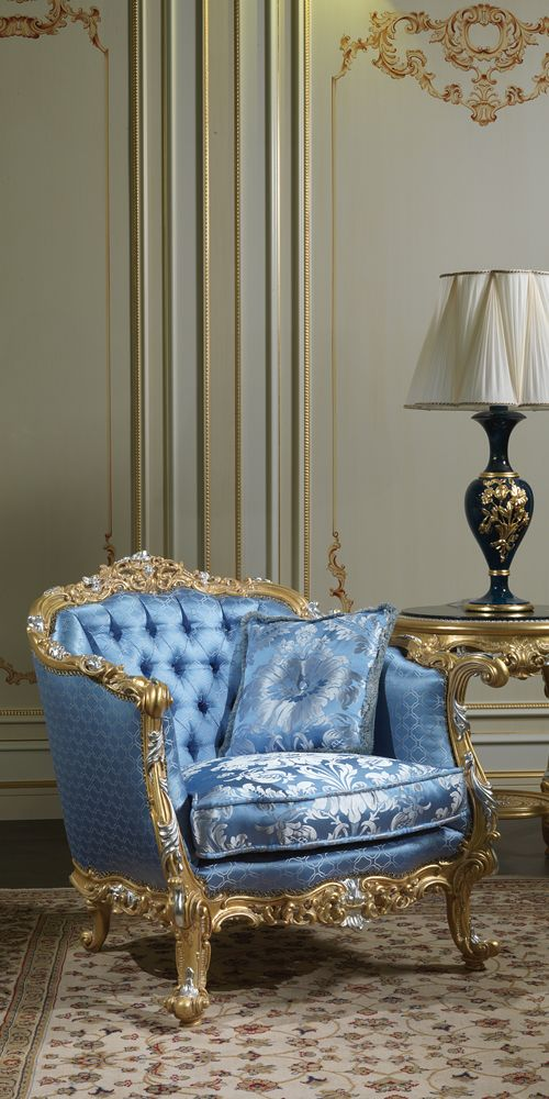 Royal Living Room Design: Eighteenth Century Living Room, Furniture Inspired To The