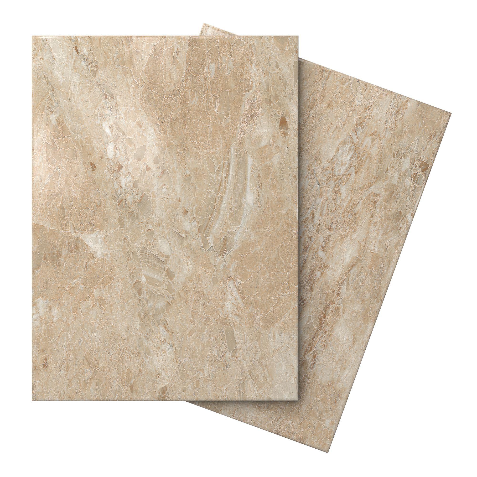 Illusion mocha marble effect ceramic wall floor tile pack of 10 illusion mocha marble effect ceramic wall floor tile pack of 10 l360mm w275mm dailygadgetfo Gallery