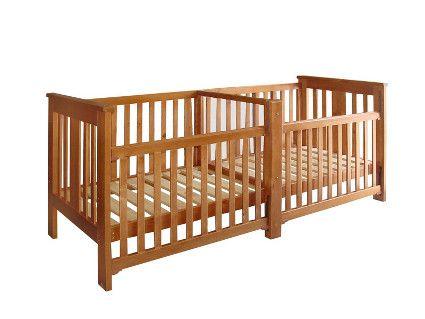Cunas Para Gemelos Twin Pinterest Baby Cribs Baby And Cribs - Cuna-para-gemelos